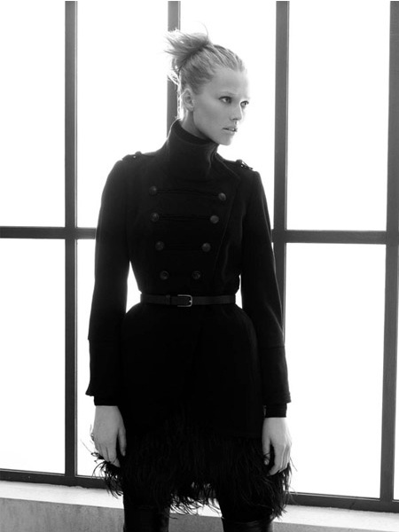 Zara ad fall/winter 09/10 - Toni Garrn