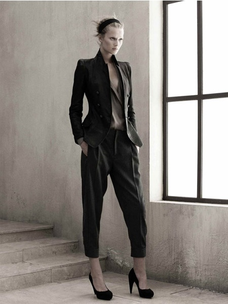 Zara campaign fw 09/10 - Toni Garrn