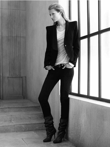 Zara ad - Toni Garrn - David Sims