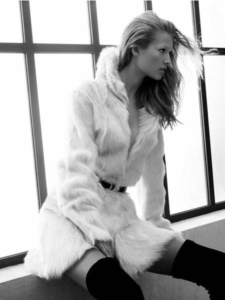 Zara campaign - Toni Garrn - David Sims