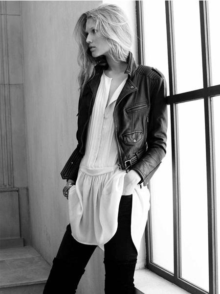 Zara fw 09/10 - Toni Garrn - David Sims