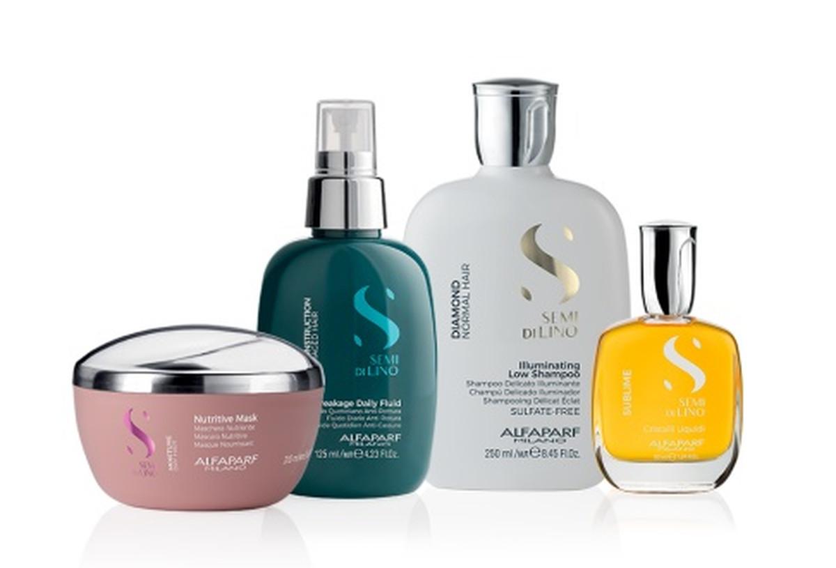 Alfaparf Milano oil and shampoo