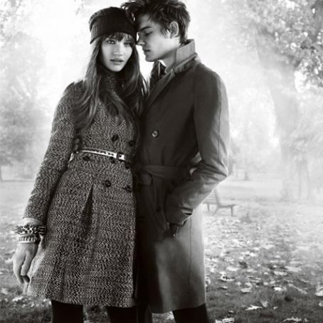 Burberry fall08/winter09 ad campaign