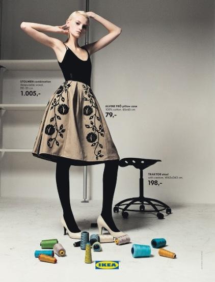 IKEA goes fashionable