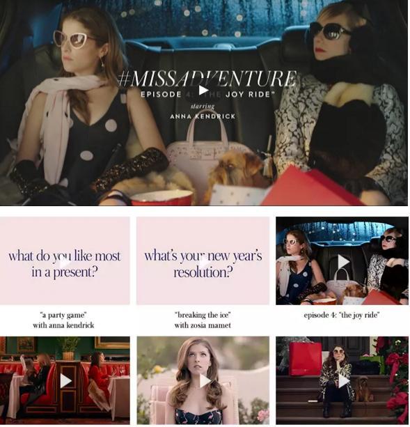 Kate Spade # MissAdventure starring Anna Kendrick