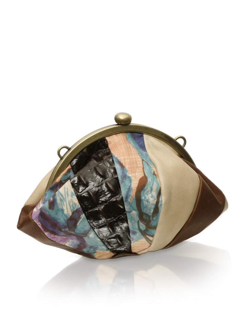 Sweetheart Leather Vintage Patchwork Over Body Bag