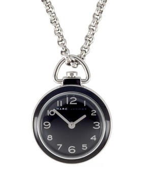 Watch charm necklace