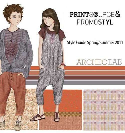 Spring/Summer 2011 key fashion themes from Printsource&Promostyl