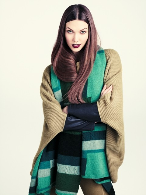 H&M fall 2011 collection lookbook