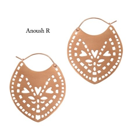 Anoush earrings by Joanna Cave