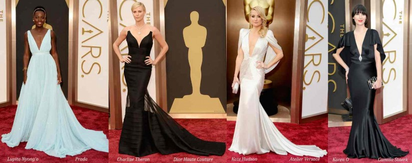 Oscar 2014 sensational red carpet style