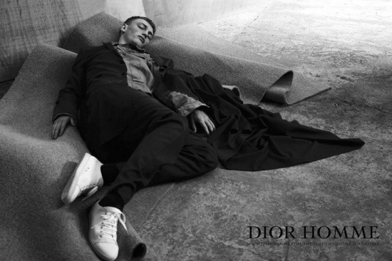 Dior Homme spring-summer 2011 ad campaign