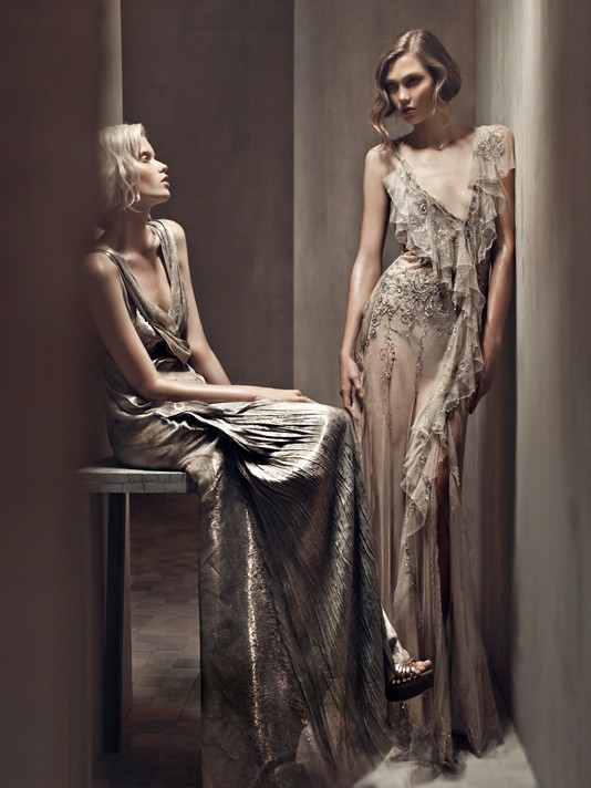 Donna Karan ad campaign ss2011 by Patrick Demarchelier