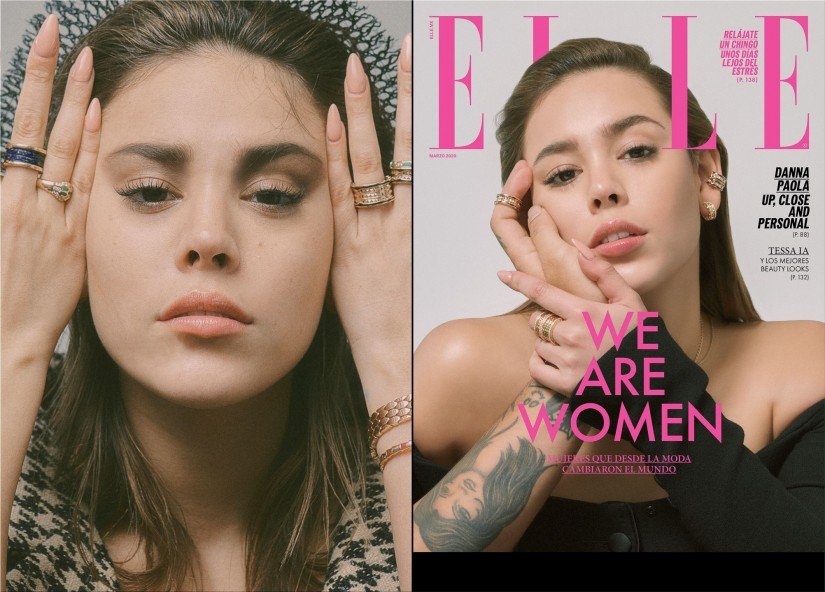 ELLE Mexico with Danna Paola