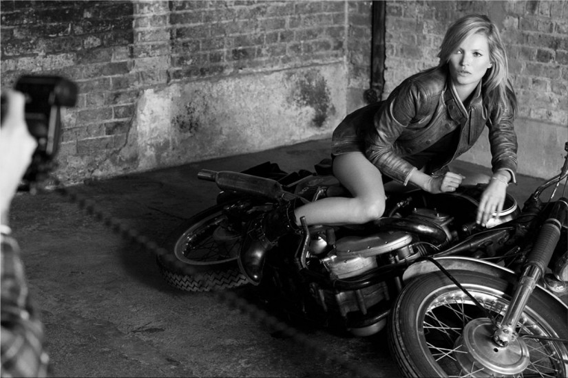 Kate Moss for Matchless