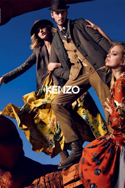 Kenzo fw10/11 advertising campaign