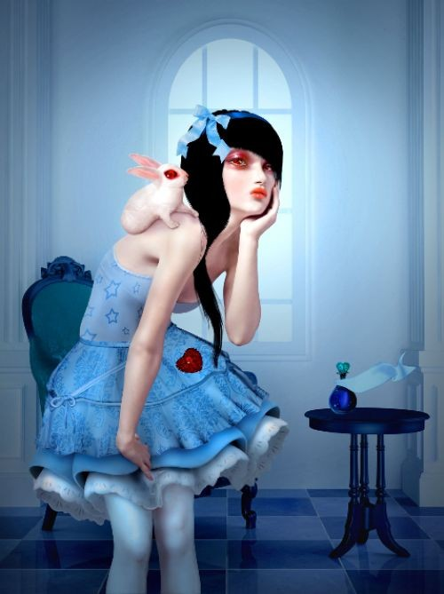 Natalie Shau, Alice and the White Rabbit