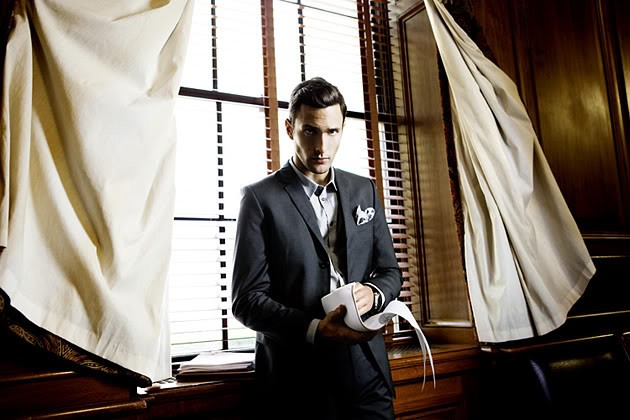 Noah Mills for Breuninger - 1