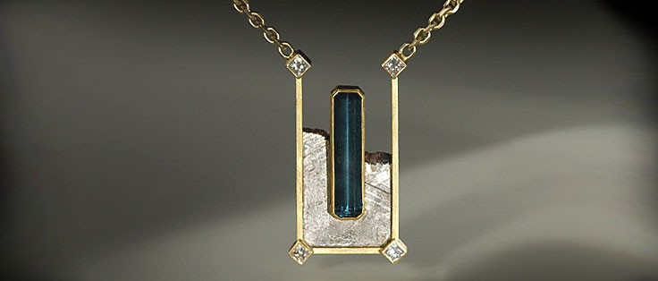 Obelisk Necklace