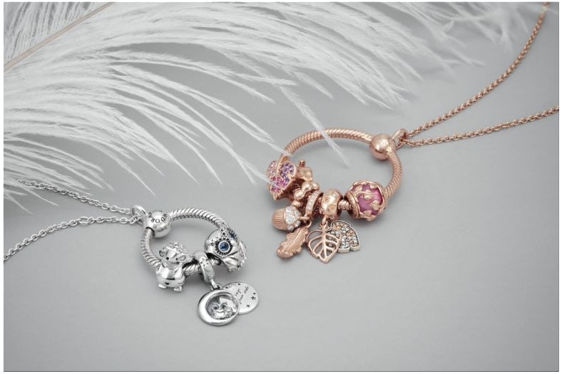 Pandora jewellery collection