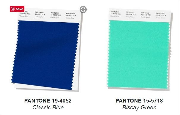 Pantone colors for the spring-summer 2020 season