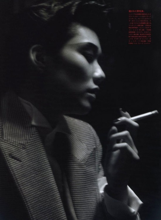 Tao Okamoto - Vogue Nippon - Mark Segal