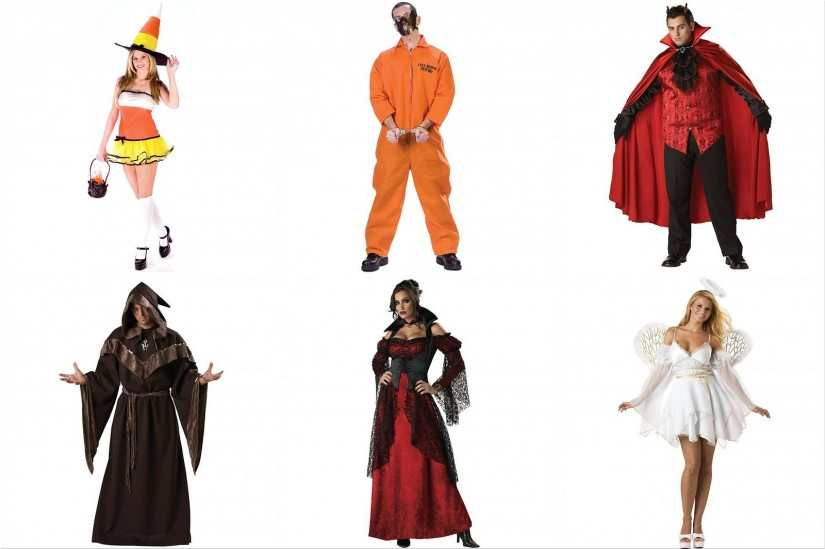 Halloween costumes for men and women