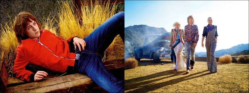 The Just Cavalli spring - summer 2015 advertising campaign