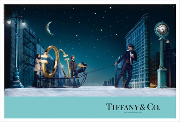 Tiffany & Co. Christmas ad campaign