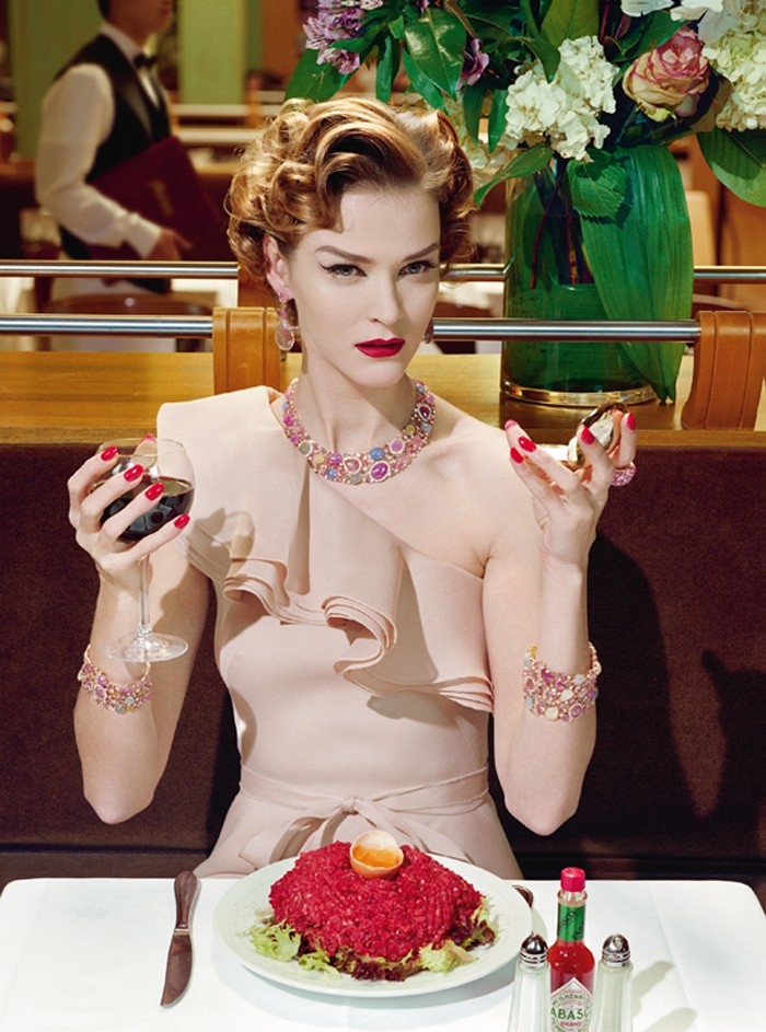 Carmen Kass - Miles Aldridge - Vogue