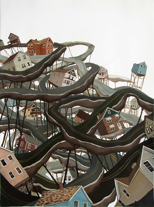 Amy Casey, Entrenched, 2008
