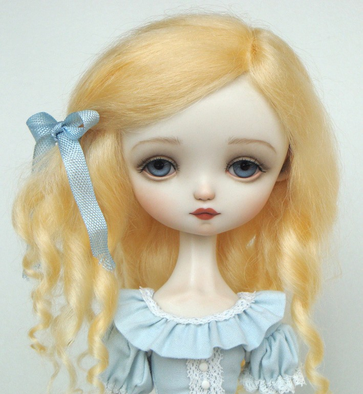 Julie Blue, Bjd doll by Ana Salvador