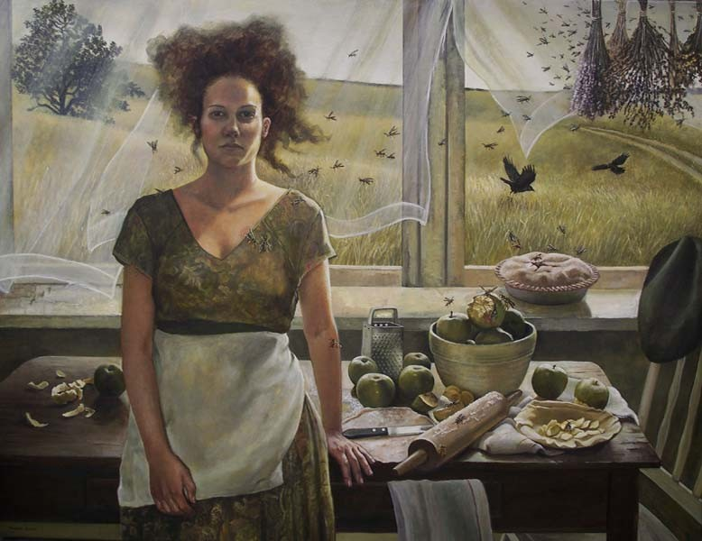 Andrea Kowch, Apple of my Eye