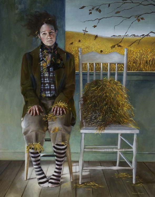 Andrea Kowch, No Trespassing