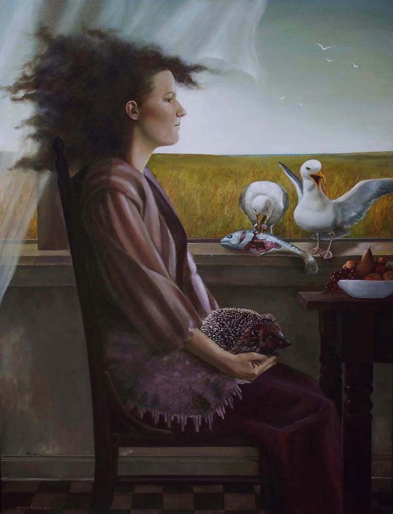 Andrea Kowch, The Guests