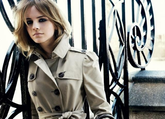 Emma Watson in Burberry ad