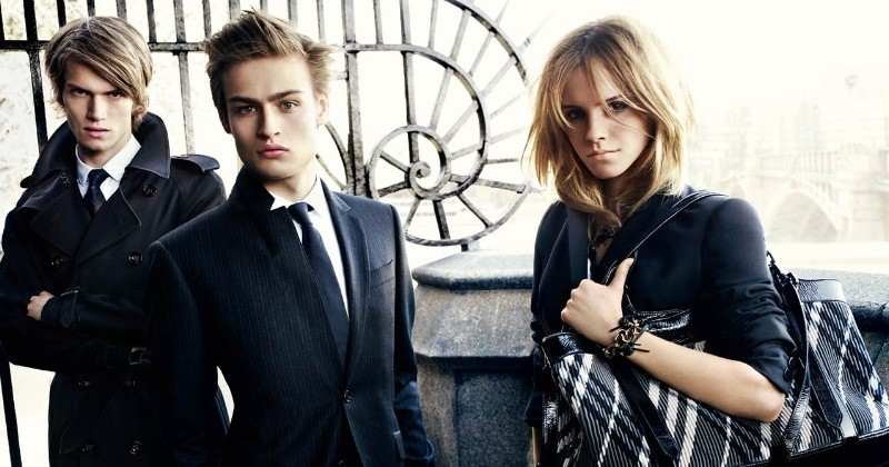 Burberry fall-winte ad campaign