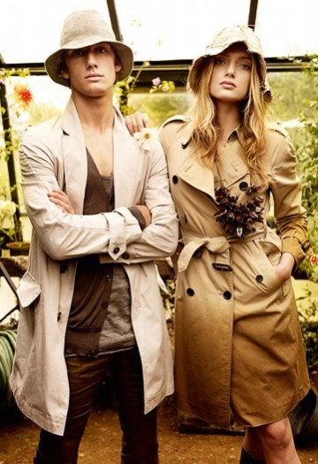 Burberry spring09 campaign