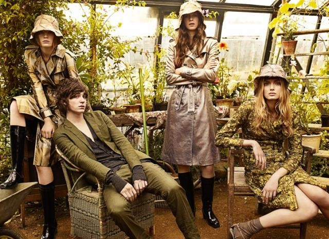 Burberry ss09 ad campaign