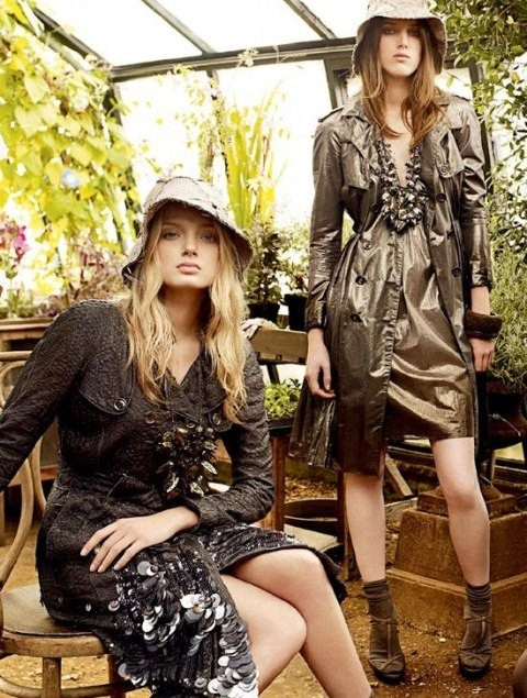 Burberry campaign spring/summer 2009