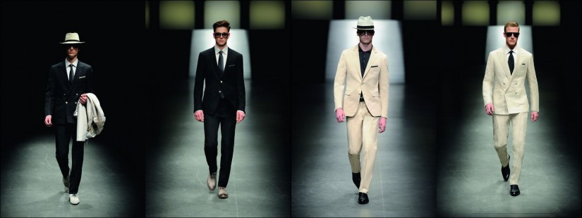Canali faashion collection spring-summer 2011