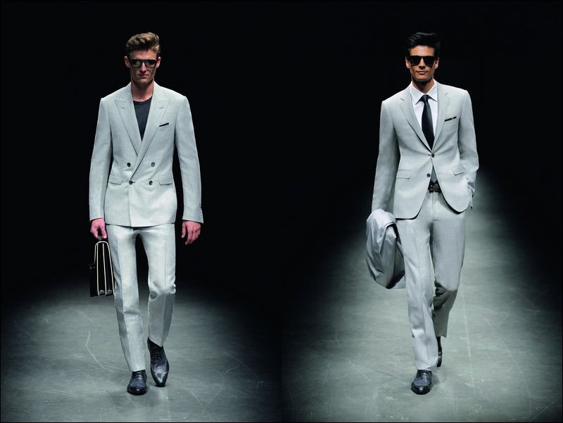 Canali collection for spring-summer 2011