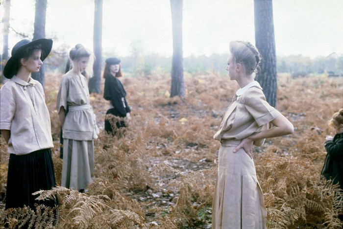 Deborah Turbeville, Valentino Fashion, Normandy, Vogue Italia, 1978