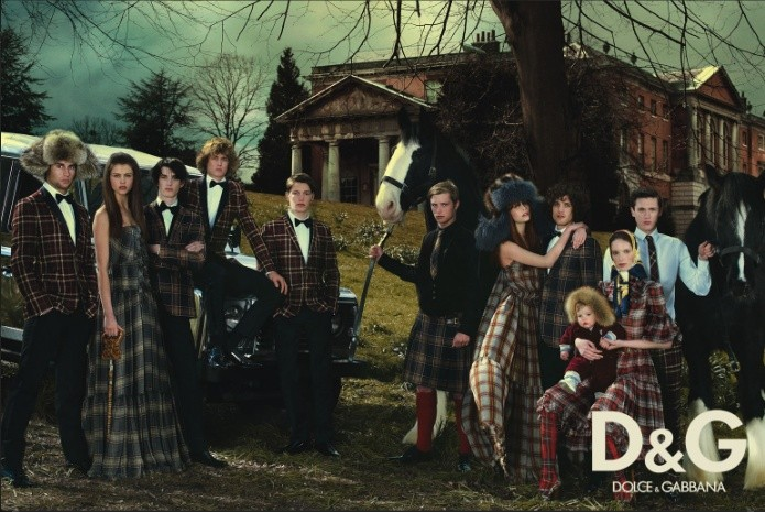 D&G fall-winter ad campaign