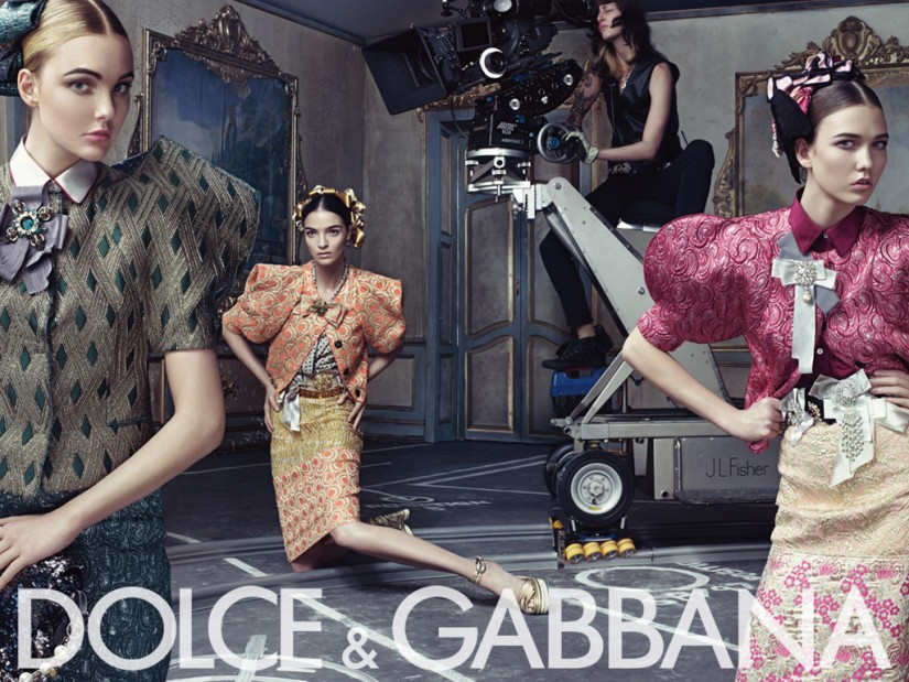Dolce&Gabbana ss09 womens ad campaign