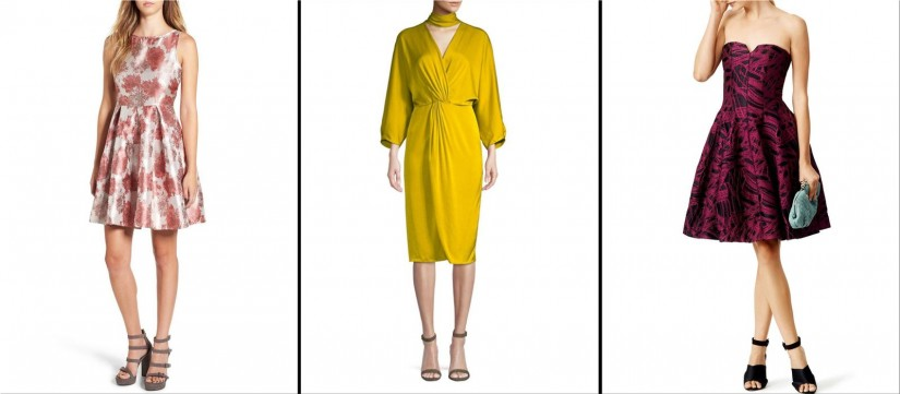 elegant autumn dresses for weddings and more