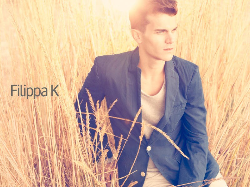 Vincent LaCrocq in Fillipa K man ad campaign