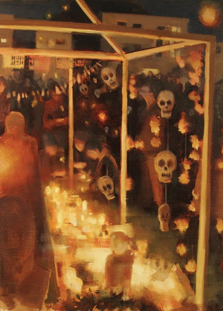 Gage Opdenbrouw, Skuls and Marigolds, Old Photos and Flames, Dia de Los Muertos