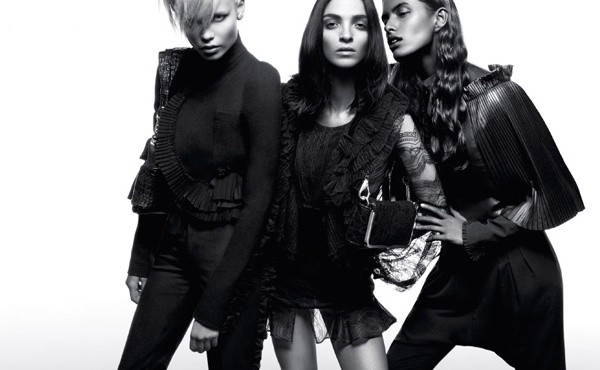 Givenchy fall 2008 campaign
