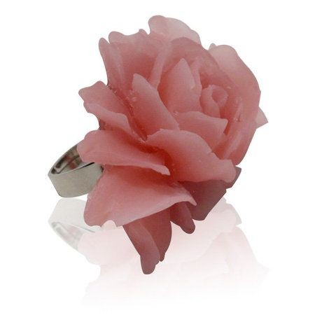 Handmade vintage Rose Ring